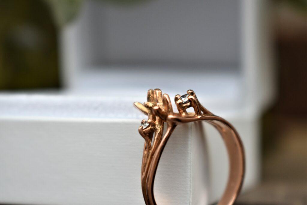 rose gold ring diamanten