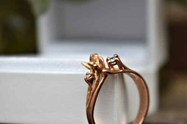 rose gold ring diamanten