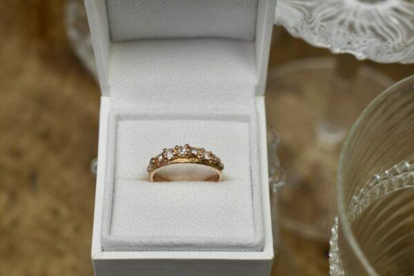 Nico Taeymans AUG ring met diamanten